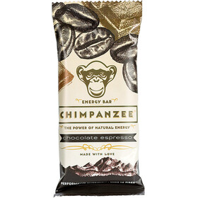 Chimpanzee Energy Bar Box Vegan Chocolate Espresso 20 x 55g